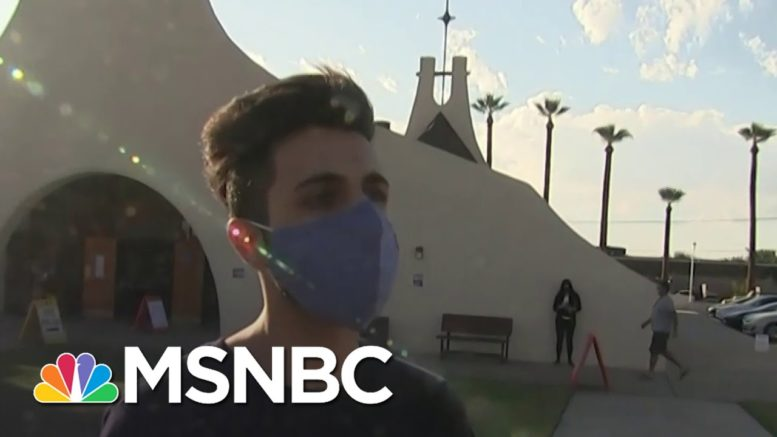 Arizona Voter Who Didn't Vote In 2016, Cast Ballot Today: 'Important Now, More Than Ever' | MSNBC 1