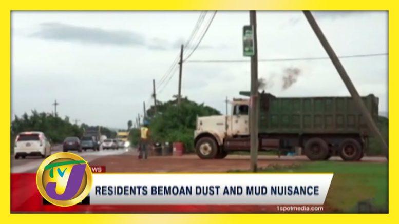 Resident's Bemoan Dust & Mud Nuisance - November 21 2020 1