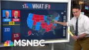 Steve Kornacki Explains Trump's Must-Have States On Battleground Map | MSNBC 4