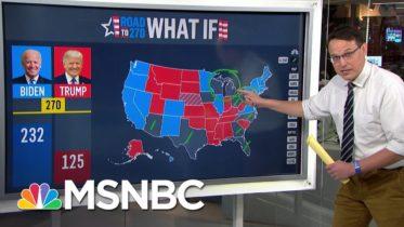 Steve Kornacki Explains Trump's Must-Have States On Battleground Map | MSNBC 6