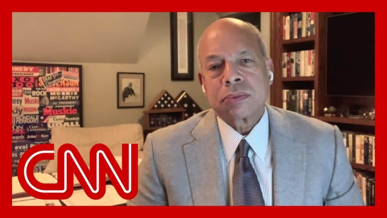Jeh Johnson reacts to fences going up around White House: It's unnerving 1