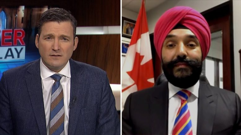 'You can decide if we got an answer': Solomon questions Bains over vaccine availability 1
