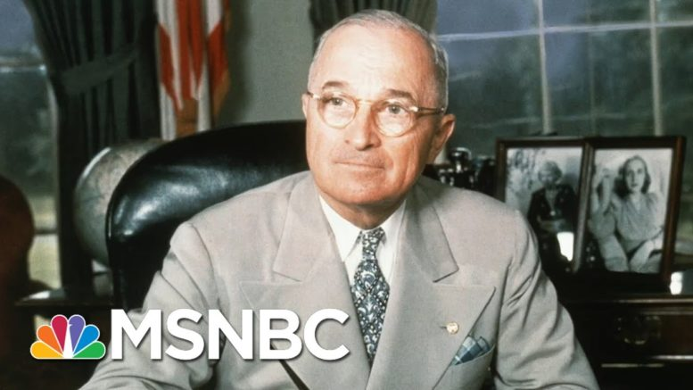 Harry Truman's Legacy On Foreign Policy | Morning Joe | MSNBC 1