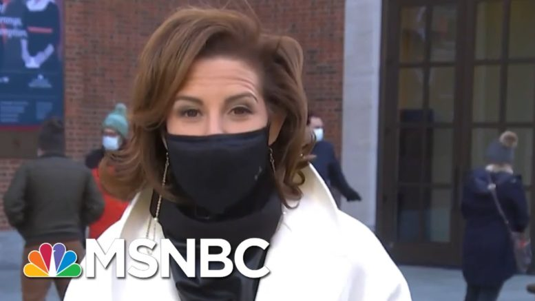 Stephanie Ruhle Speaks To Voters In PA: 'It Doesn't Feel Like America To Me Right Now' 1