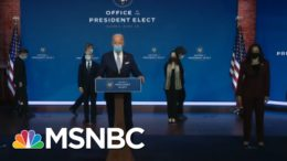 Robert Gibbs Talks Biden Cabinet: They Underscored 'Truth Telling,' 'Science' | Katy Tur | MSNBC 7
