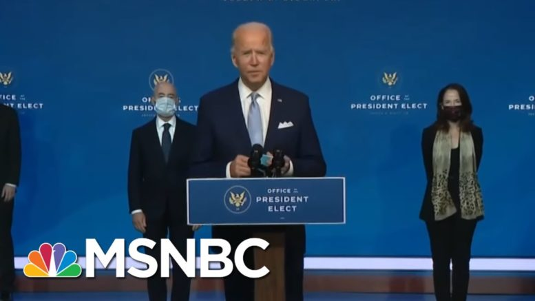 Biden: My Administration Will Be A 'Coalition Builder' | The ReidOut | MSNBC 1