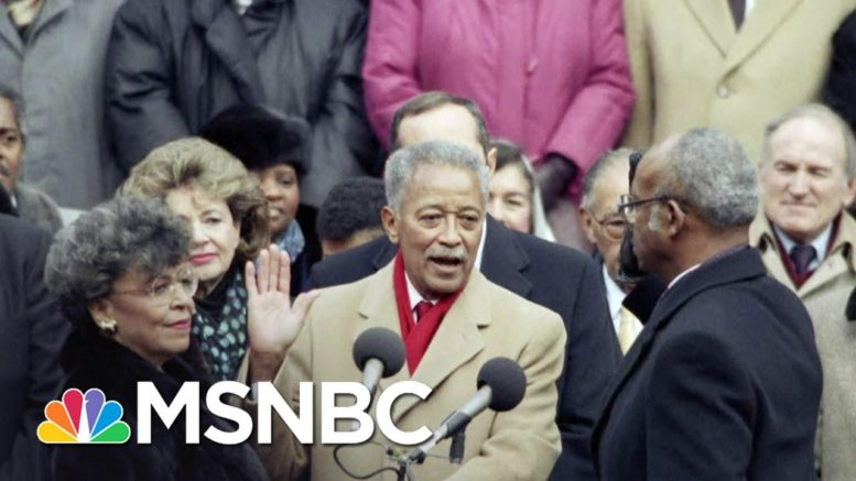 Mr. Dinkins: Joy remembers The Life And Legacy Of David Dinkins | The ReidOut | MSNBC 1