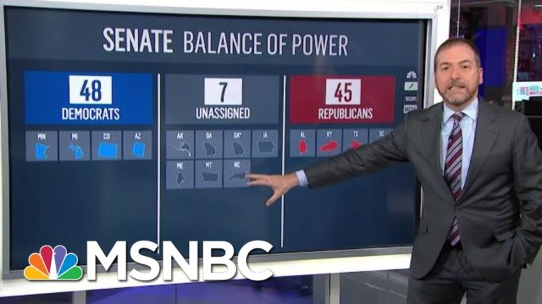 35 Senate Seats Up For Grabs In Battle For Senate Control | MTP Daily | MSNBC 1