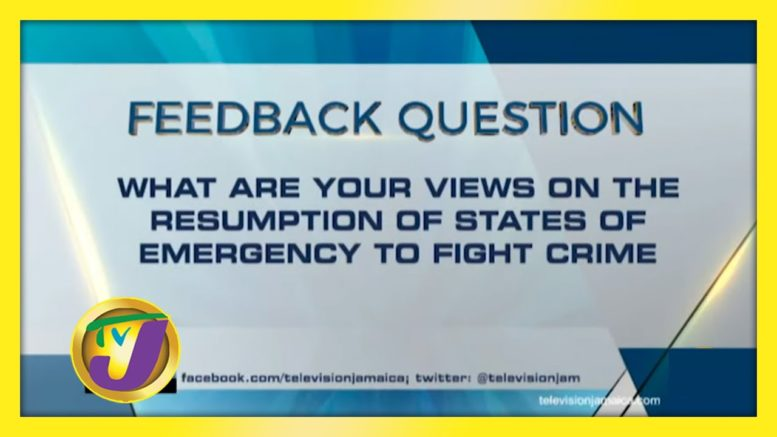 TVJ News: Feedback Question - November 23 2020 1