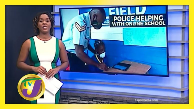Belfield Police Accommodate Students without Internet - November 23 2020 1