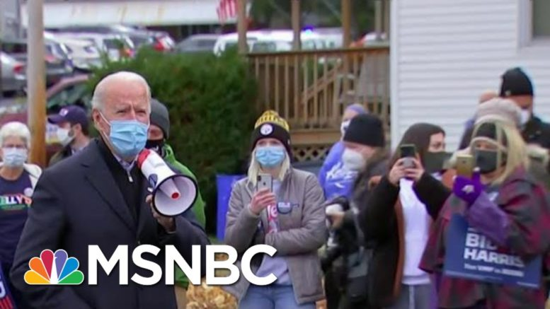 Biden's Team Is Optimistic About Multiple Paths To Victory | MTP Daily | MSNBC 1
