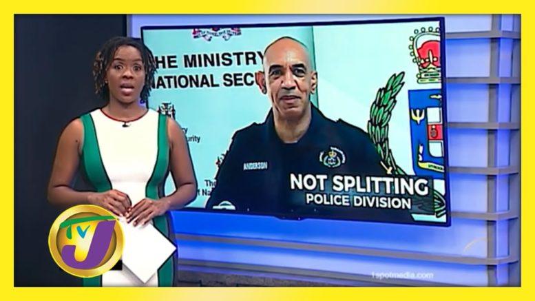 St. James Police Division Split off the Table - November 23 2020 1