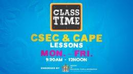 CAPE & CSEC Lessons 9:45AM-12PM | Educating a Nation - November 24 2020 1