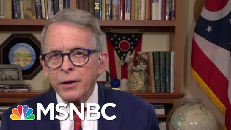 Ohio Gov. DeWine: 'I Think We're Looking At A Very Close Race' | MTP Daily | MSNBC 1