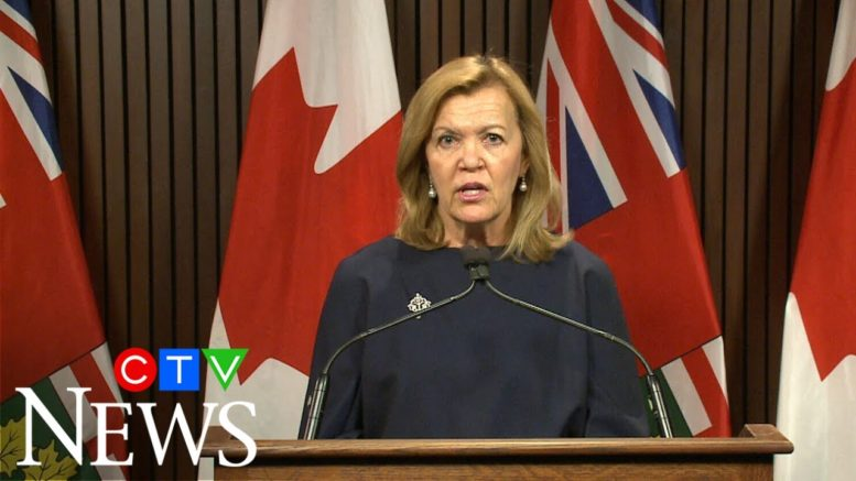 Ontario's Health Minister Christine Elliot says the AG's report is a 'disappointment' 1