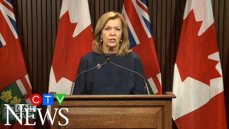 Ont. health minister on AG's report: I have complete confidence in Dr. Williams 1