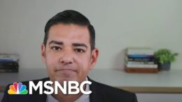 Mayor Garcia's First Thanksgiving After Mom And Stepdad Died From COVID-19 | The Last Word | MSNBC 8