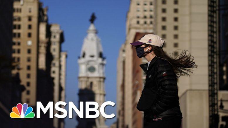Studies Show Benefits Of Mask Mandates To Economic Activity | Rachel Maddow | MSNBC 1