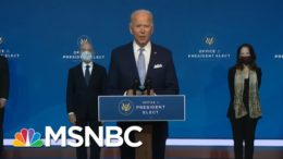 Biden Transition Event Disorienting For Its Competence, Normalcy | Rachel Maddow | MSNBC 2