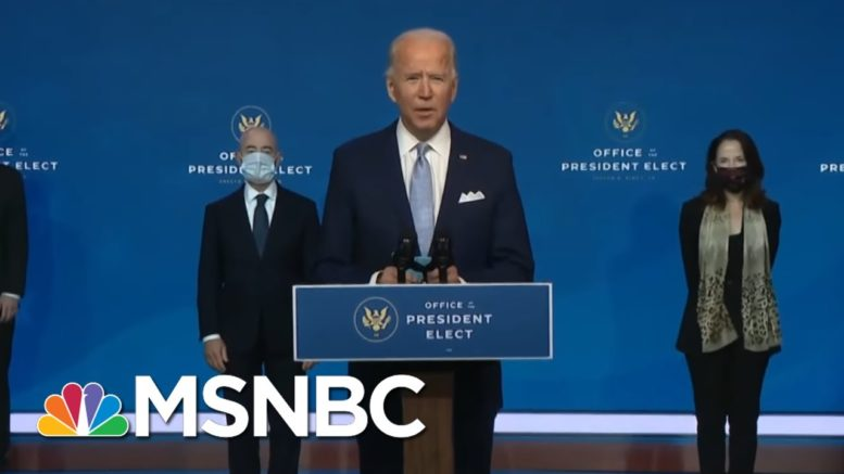 Biden Transition Event Disorienting For Its Competence, Normalcy   Rachel Maddow   MSNBC 1
