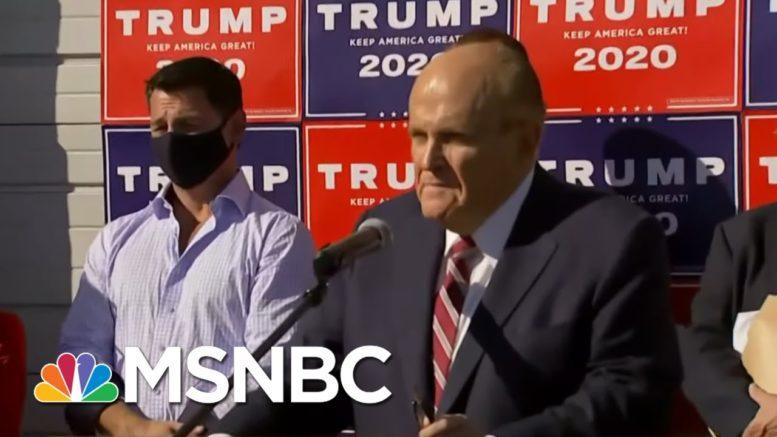 Republican Media Stunt Falsely Cast as State Legislative Hearing | Rachel Maddow | MSNBC 1