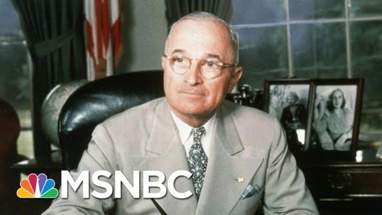 Truman, Joe Biden And U.S. Foreign Policy   Morning Joe   MSNBC 1