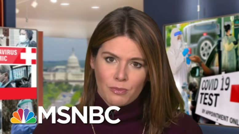Thanksgiving Football Game Sidelined By Covid-19 | MTP Daily | MSNBC 1