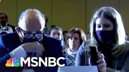 Trump Speaks Via iPhone Speaker Into 'Hearing' On Baseless Fraud Claims | Ayman Mohyeldin | MSNBC 6