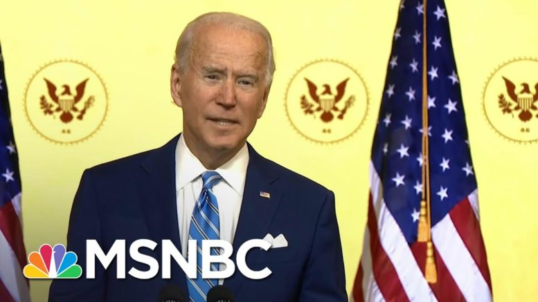 Biden Sympathizes With Those Who Lost A Loved One To Covid During Thanksgiving Address | MSNBC 1