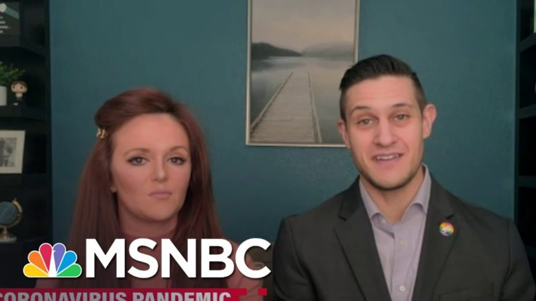 Furloughed Family Of Flight Attendants Talk Need For Financial Relief | Katy Tur | MSNBC 1
