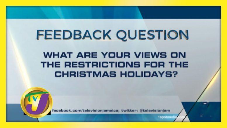 TVJ News: Feedback Question - November 24 2020 1