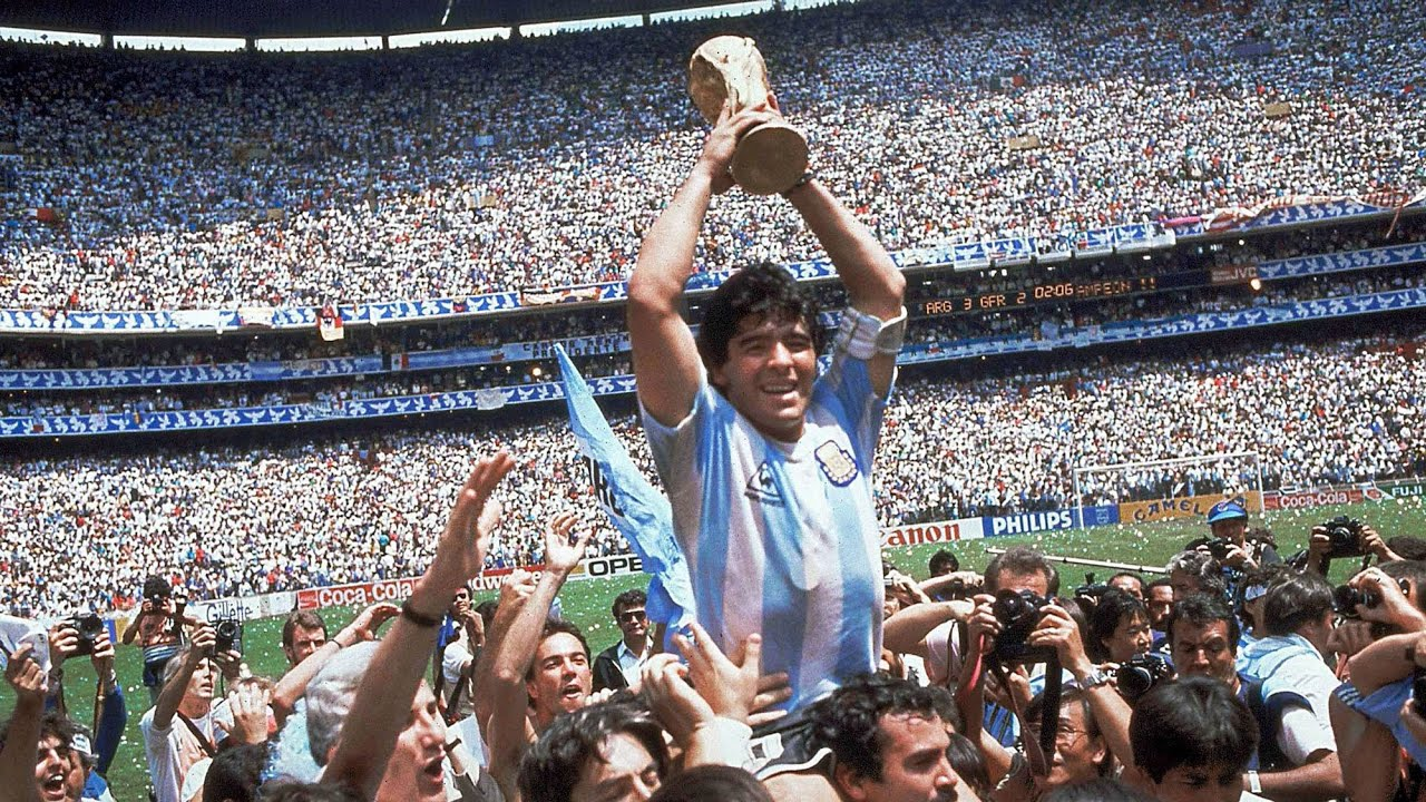 The life and career of Argentine soccer legend Diego Maradona 1