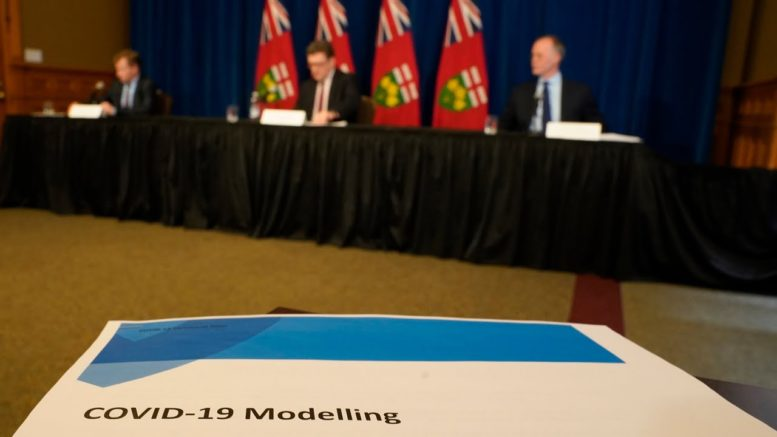 Ont. modelling update: COVID-19 situation stabilizing, but still 'precarious' warn officials 1