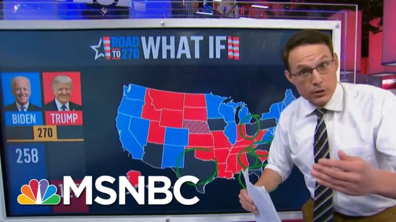 Steve Kornacki: If Trump Loses These States Early, 'It Could Be It For Him' | MSNBC 1