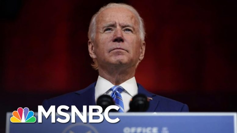 Biden Calls For Unity As Trump Pardons Flynn And Attacks Election | The 11th Hour | MSNBC 1