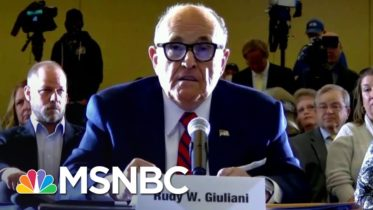 PA Lt. Governor To Trump Lawyer Giuliani: Where's The Voter Fraud? | The 11th Hour | MSNBC 6