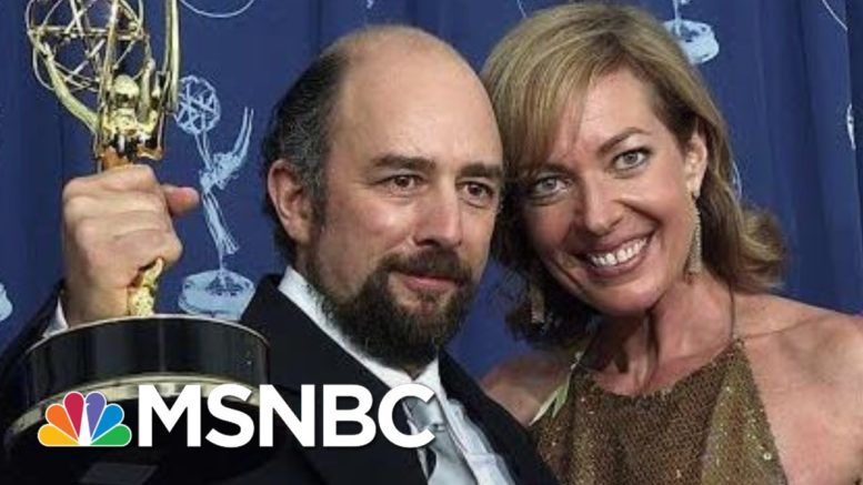 'West Wing' Cast Sends Love To Richard Schiff Recovering From Covid-19 | The Last Word | MSNBC 1