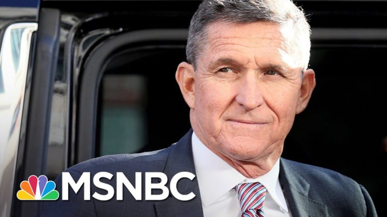 Pardon Of Mike Flynn Complicated By Trump Self-Interest | Rachel Maddow | MSNBC 1