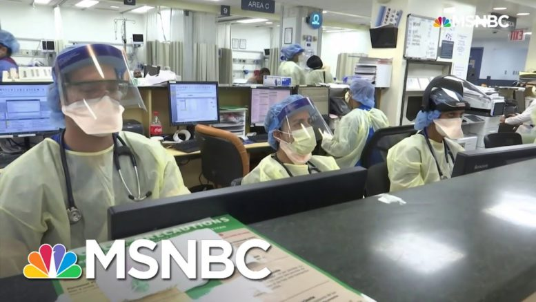 Medical Workers Pushed To Brink By Rampant Covid Spread | Rachel Maddow | MSNBC 1