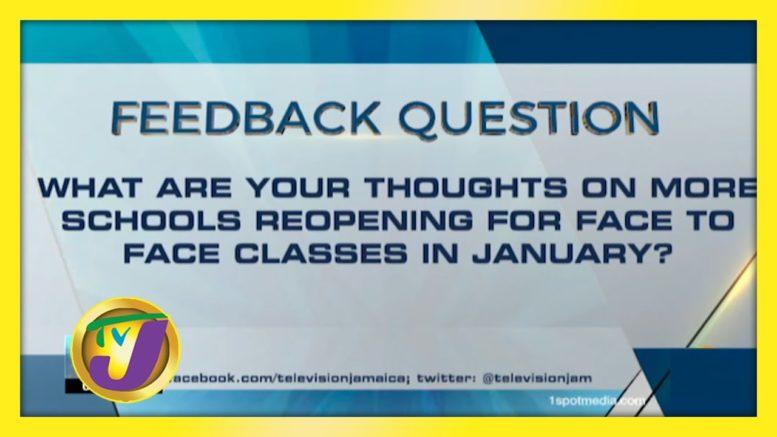 TVJ News: Feedback Question - November 25 2020 1