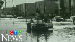 CTV News archive: Edmonton flooding in 1970 3