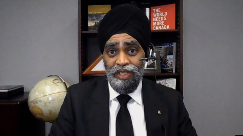Defence Minister Sajjan explains what role the military will play in COVID-19 vaccine rollout 1