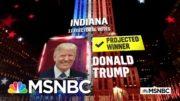 Trump Wins Indiana, NBC News Projects | MSNBC 3