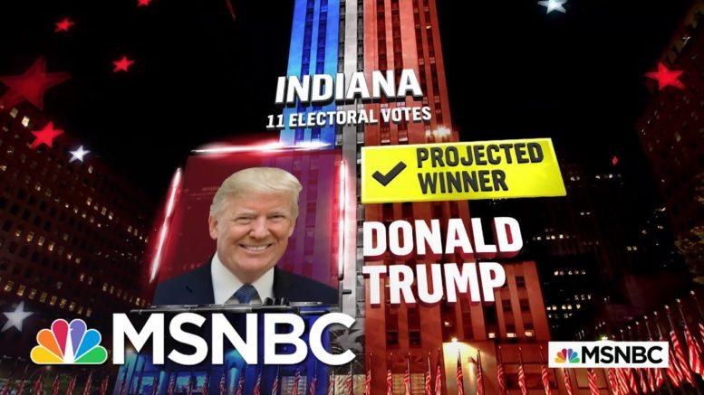 Trump Wins Indiana, NBC News Projects | MSNBC 1