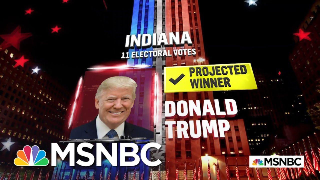 Trump Wins Indiana, NBC News Projects   MSNBC 7