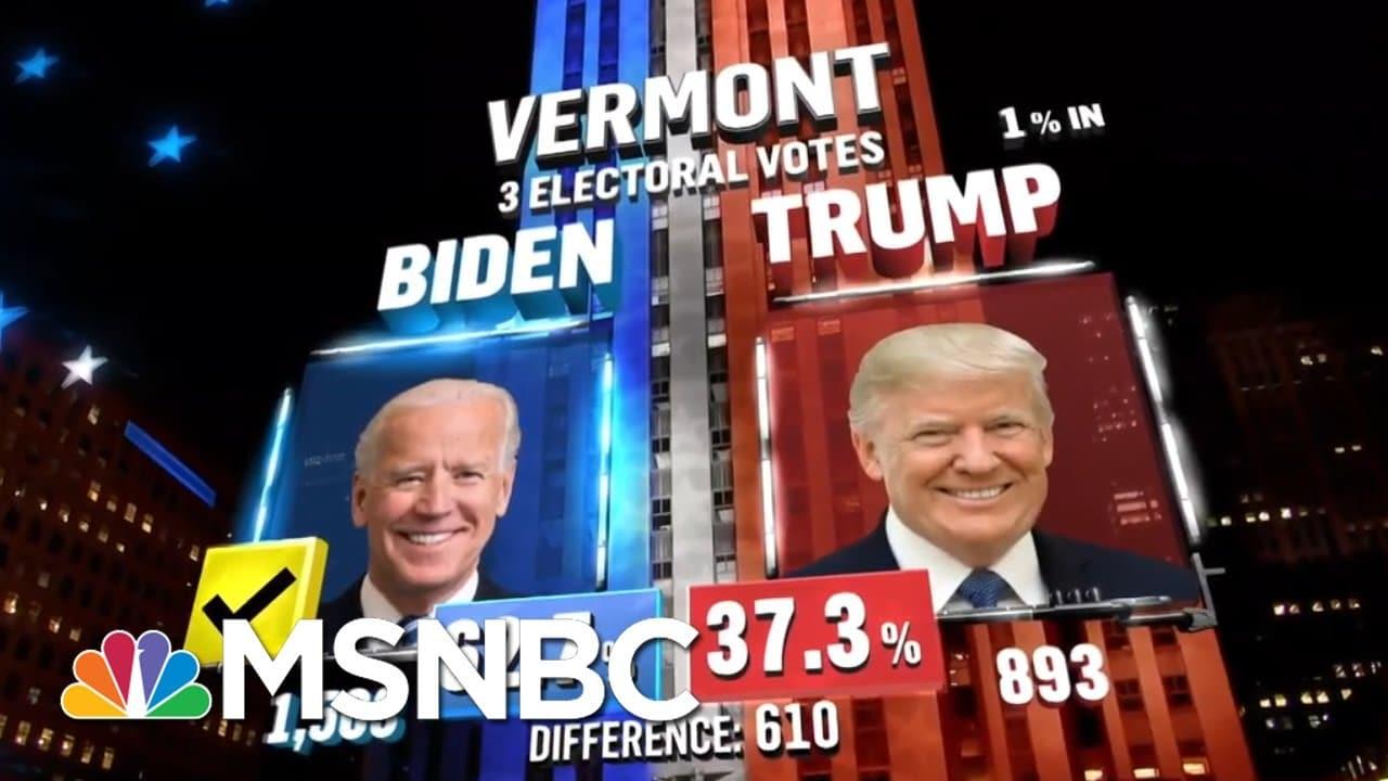 Biden Wins Vermont, NBC News Projects | MSNBC 6