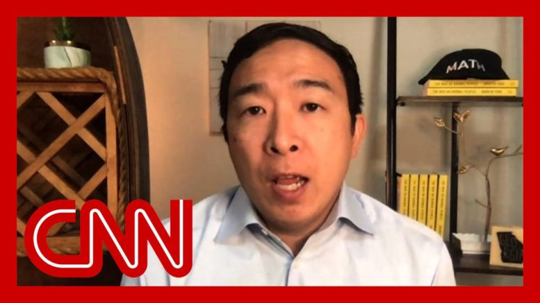 'Politics are why things aren't getting done': Andrew Yang on Covid-19 relief 1