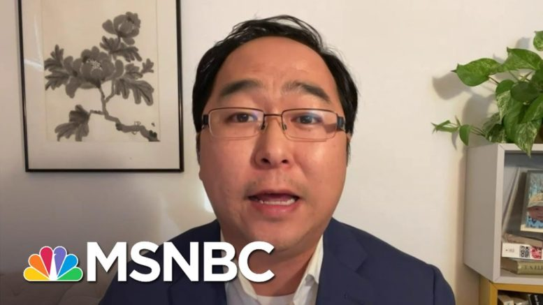 Rep. Andy Kim: '1 Out Of Every 1,250 Americans In This Country Has Died Because of COVID'   MSNBC 1