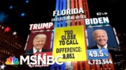 Biden Wins DE, MD, NJ, MA, DC While Trump Carries Oklahoma, NBC News Projects | MSNBC 5