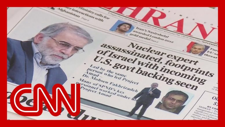 Iran blamed Israel for nuclear scientist's assassination. Here's what we know 1
